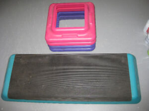 exercise stepping set