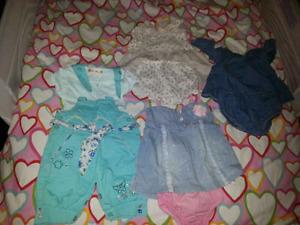 Vêtements pour bébé fille 0-3 mois 3-6 mois et 6-12mois