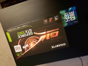 Gigabyte 1060 G1 gaming 6GB + i5 6600K
