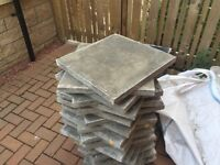 25 natural grey Marshall slabs- Brand New