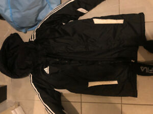 MENS small adidas winter jacket - fits like medium