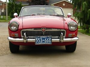 1967 MGB Roadster MKI with Overdrive
