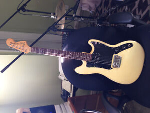 1978 Fender Musicmaster (mod coil-tap) $1000
