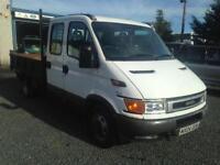 Iveco daley tipper 2.3TD 35C12 crew/cab