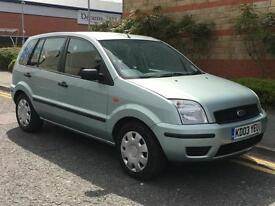 Ford Fusion 1.6 2003.25MY 2