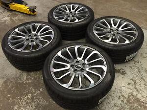 "20"" Range Rover Wheels & Atturo Performance Tires (Range Rover)"
