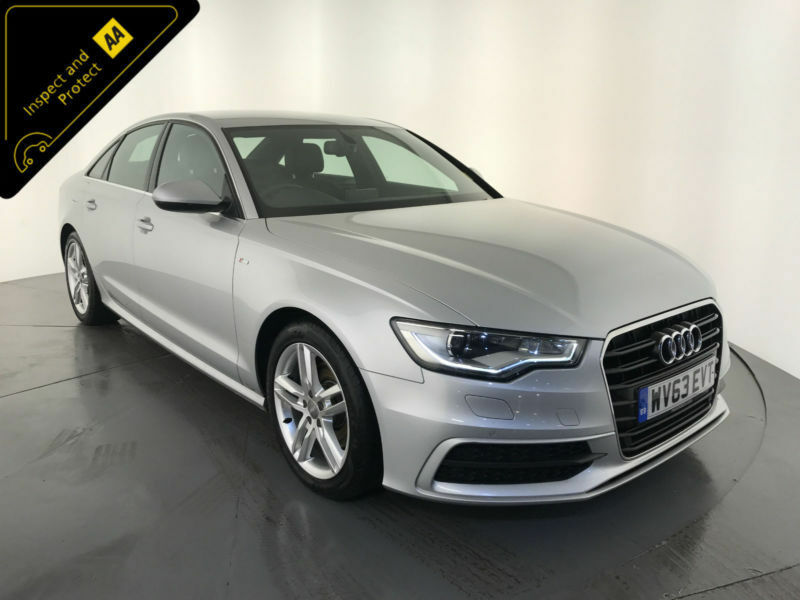 2013 63 AUDI A6 S LINE TDI DIESEL SALOON SERVICE HISTORY FINANCE PX WELCOME