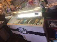 Ice cream freezer £200