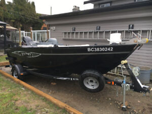 LUND 1650 REBEL XL SS FISHING BOAT