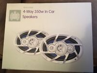Ministry of Sound 4-way speakers