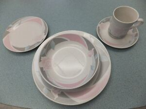 FOR SALE New Stoneware Dinner Set service for 8 – Pattern is Chi