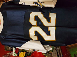 Blue bombers jersey size xl