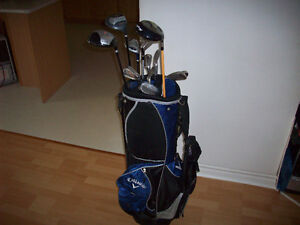 MEN'S  RIGHT HAND  GOLF CLUBS  --  BAG INCLUDED