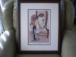 "John Newby - "" Fashion Statement "" Signed Print"