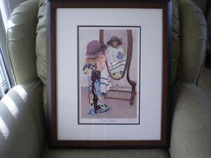 "John Newby - "" Fashion Statement "" Signed Print Kitchener / Waterloo Kitchener Area image 1"