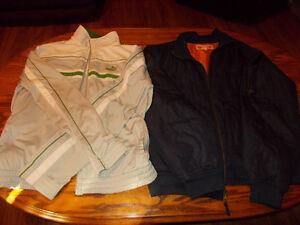 Men's Clothes Lot coats shirts pants Puma L-XL 34-36 gently used