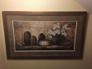 Beautiful Wall Painting with Delicate Frame