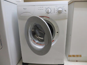 """Whirlpool""apartment size frontload washer Sarnia Sarnia Area image 1"