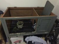Rabbit hutch free to a good home, GONE