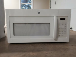 GE 1.6 cu. Ft. above the cook top Microwave Oven