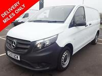 2016 Mercedes-Benz Vito 111 CDI - DELIVERY MILES ONLY Diesel white Manual