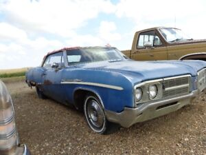1968 Buick LeSabre two door convertible, rare find