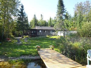 Reduced - Beautiful, Private, Waterfront Property on Reid Lake