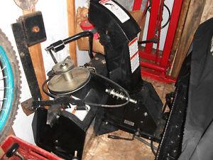 craftsman tractor snowblower