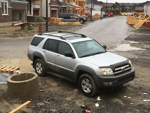 2003 toyota 4 runner 4x4 v8 low mileage!!