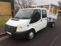 2013 Ford Transit 350 C/C DRW DOUBLECAB TIPPER Manual Tipper