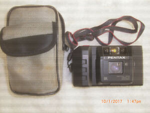 Pentax PC-333 Autofocus 35mm F 1:3.5 with strap and case