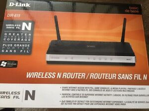 D-link wireless N router