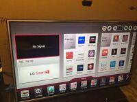 "LG 47"" smart LED Tv apps wi-fi"