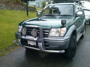 Toyota Land Cruiser Diesel 96 170Kkm withWARRANTY 8seats4x4AWD