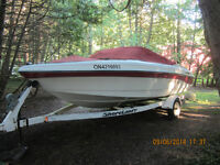 1995 Rinker 180 Bowrider with Trailer