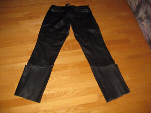 New Price-Leather Pants and Jacket