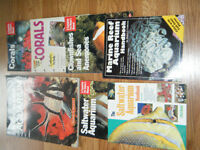 7 Marine Aquarium (saltwater ) Books