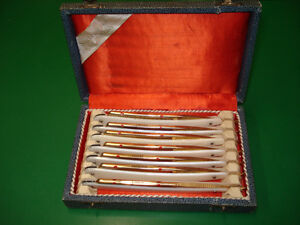 Solingen,Siberstahl Garanti 7 Day Straight Razor Set in Box City of Toronto Toronto (GTA) image 1