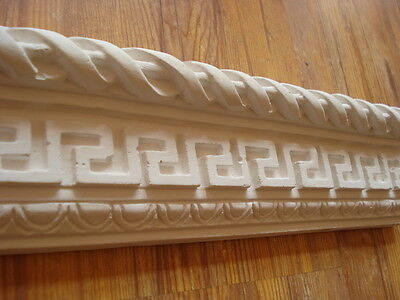 Stuck - Stuckleiste,3060 L, Mäanderband - Versace - Stil - wunderschön  73,5 cm