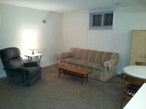 One bedroom basement suite in Arnprior