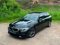 2018 18 REG BMW 5 Series 2.0 520i GPF M Sport Touring Auto (s/s) 5dr
