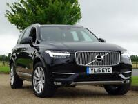 2015 Volvo XC90 D5 INSCRIPTION AWD Diesel black Automatic