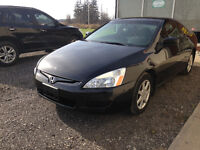 2003 Honda Accord EX Coupe V6 $4,995 CERTIFIED AND E-TESTED