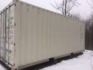 Brand new 20' shipping containers $3900 free lock