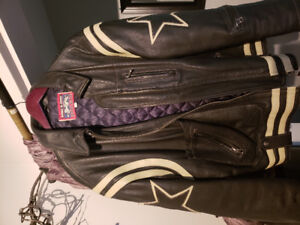 Vintage mens Zino and Judy Leather jacket