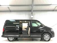 VW VOLKSWAGEN CARAVELLE EXECUTIVE LOW MILEAGE BLACK ELECTRIC DOORS ETC