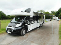 Swift Kon-Tiki 649 Black Edition - 6 Berth Motorhome - 2014 - Solar Panel