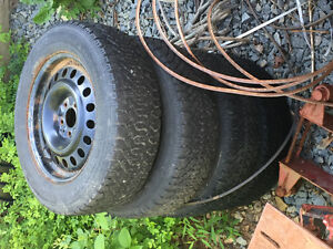 Winter tires for Sale used 1 winter $300