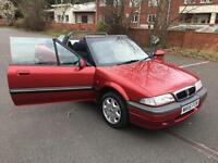 Rover 216 1.6i 1995MY Cabriolet 16v. A TIMELESS, BEAUTIFUL RELIC. ELECTRIC HOOD.