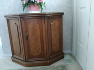 Cabinet with storage - Solid Cherry wood